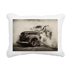 Unique Burn out Rectangular Canvas Pillow