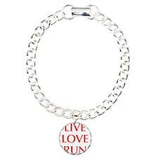 LIVE-LOVE-RUN-OPT-RED Bracelet