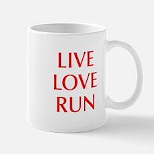 LIVE-LOVE-RUN-OPT-RED Mug