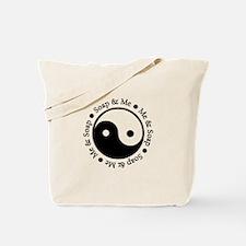 Soap Me Ying Yang Tote Bag