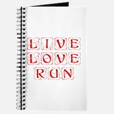 LIVE-LOVE-RUN-KON-RED Journal