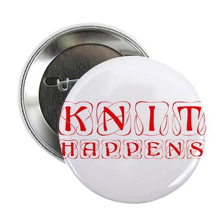 "knit-happens-KON-RED 2.25"" Button (10 pack)"