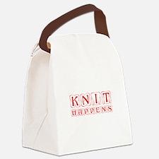 knit-happens-KON-RED Canvas Lunch Bag