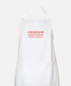 grammar-difference-OPT-RED Apron