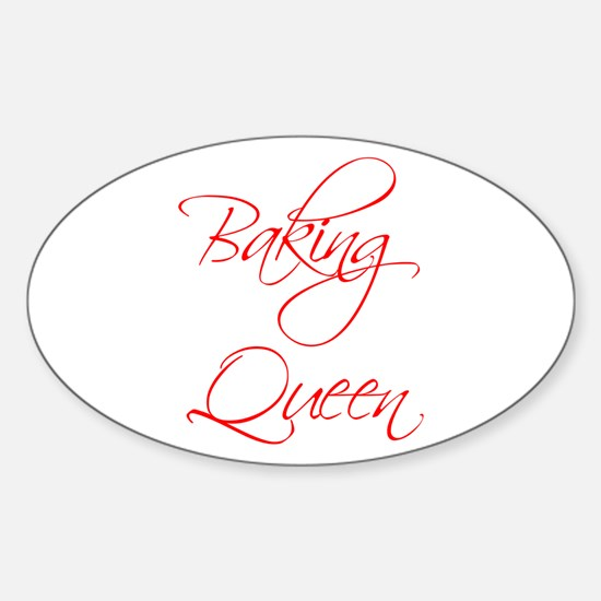 BAKING-QUEEN-scr-red Decal