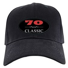 70th Birthday Classic Baseball Hat