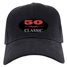 50th Birthday Classic Baseball Hat
