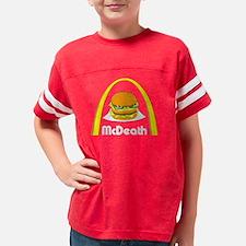 3-McDeath, black shirts, fina Youth Football Shirt