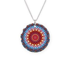 Funky Artsy Bold Bright Colourful Necklace