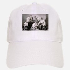 Jesus blessing little children - 1867 Baseball Baseball Baseball Cap