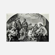 Jesus blessing little children - 1866 Magnets