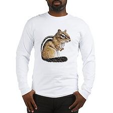 Chipmunk Cutie Long Sleeve T-Shirt