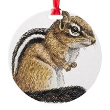 Chipmunk Cutie Ornament