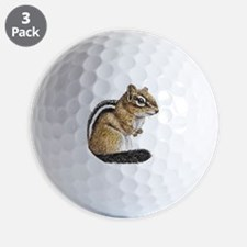 Chipmunk Cutie Golf Ball