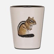 Chipmunk Cutie Shot Glass