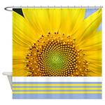 Sunflower Photo Shower Curtain