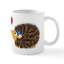 Cuddley Hedgehog Couple Mug