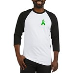 Green Awareness Ribbon Baseball Jersey