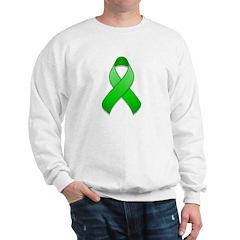 Green Awareness Ribbon Sweatshirt