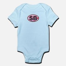 South Beach - Oval Design. Infant Bodysuit