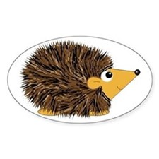 Prickley Little Hedgehog Decal