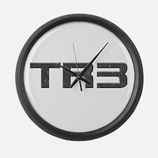 TR3 Triumph Large Wall Clock