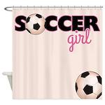 Soccer Girl Shower Curtain