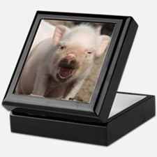 Cute Piglet Keepsake Box