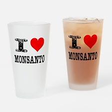 Pro Monsanto Drinking Glass