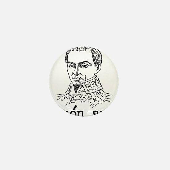 Simon Bolivar Mini Button