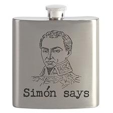 Simon Bolivar Flask