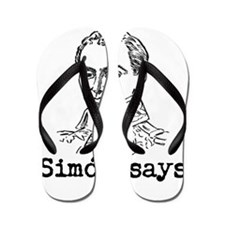 Simon Bolivar Flip Flops