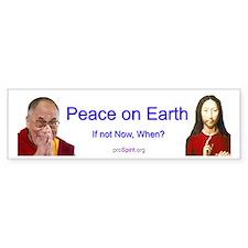 Dalai Lama - Jesus Christ - Bumper Bumper Sticker