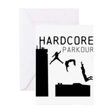 Parkour Greeting Card