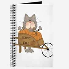 Cool Halloween cat Journal