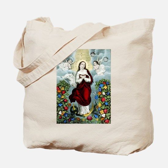 Immaculée conception - 1856 Tote Bag