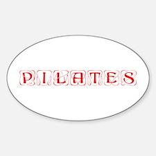 pilates-kon-red Decal