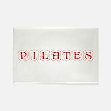 pilates-kon-red Rectangle Magnet (10 pack)