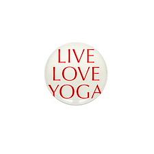 LIVE-LOVE-YOGA-OPT-RED Mini Button