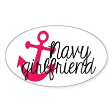Navy Girlfriend Decal