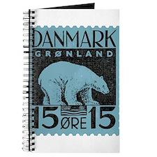 2001 Greenland Polar Bear Postage Stamp Journal