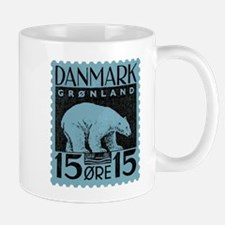 2001 Greenland Polar Bear Postage Stamp Mug
