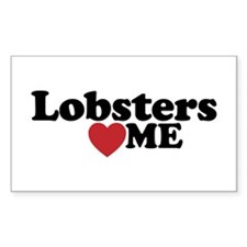 Lobsters Love Me Decal