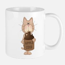 cat with Apple Cider Mug