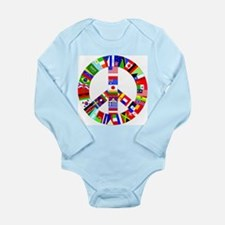 World Peace Baby Outfits Body Suit