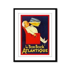 Atlantique Framed Panel Print