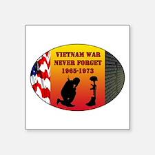 Vietnam War Memorial Sticker