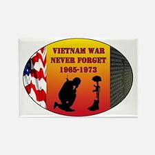 Vietnam War Memorial Rectangle Magnet