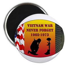 "Vietnam War Memorial 2.25"" Magnet (100 pack)"