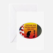 Vietnam War Memorial Greeting Card